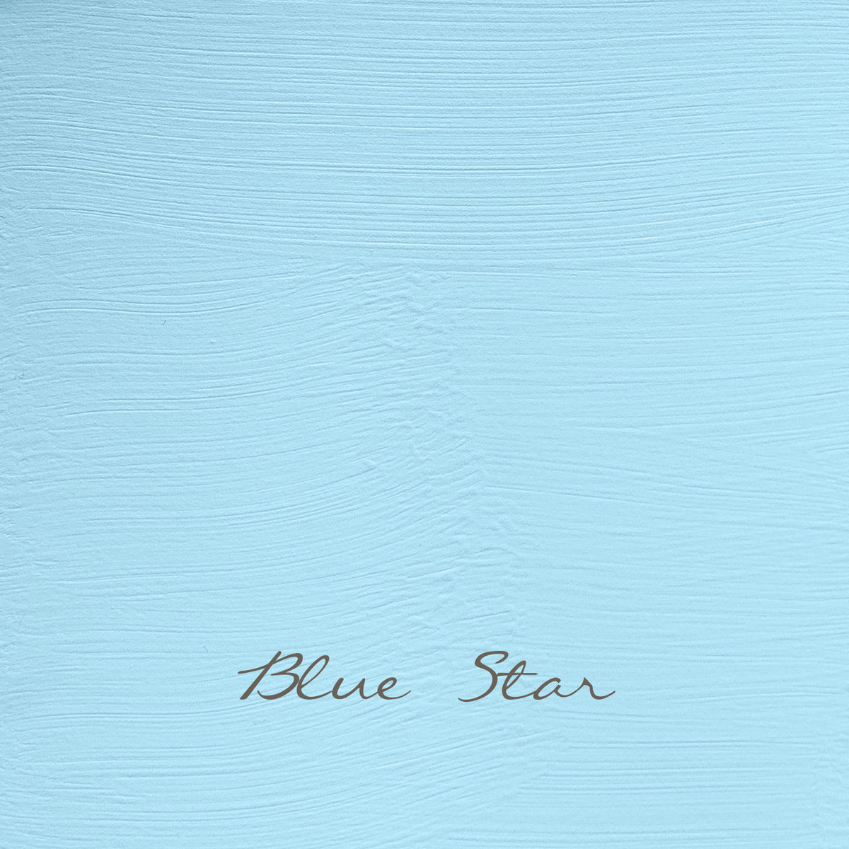 Vintage, colour Blue Star