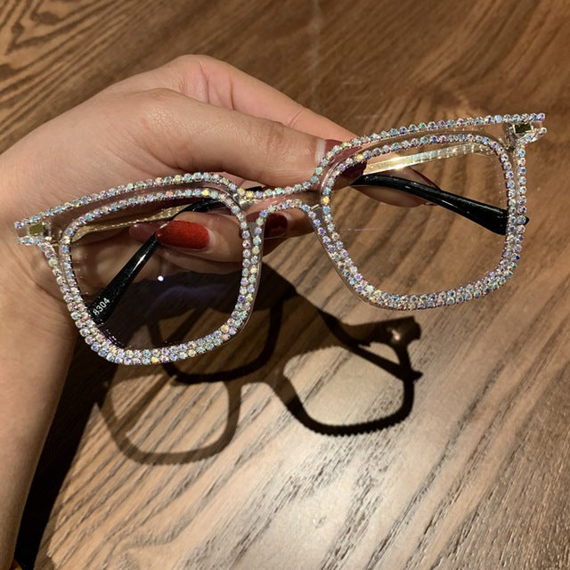 Luxury Rhinestone Sunglasses