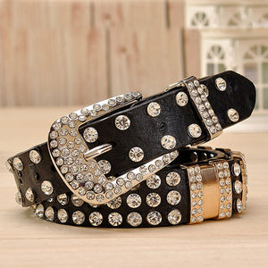 Big Rhinestone Belt