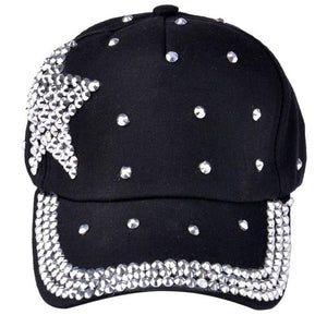 Children's Rhinestone Star Hat