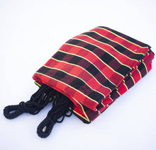 Load image into Gallery viewer, Maria Canta - Black Plaid Hammock in Black and Red