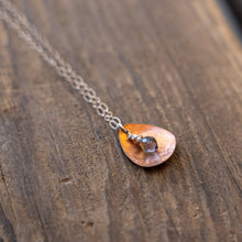 Load image into Gallery viewer, Joyce Pierce - Hand Hammered Copper Petal Necklace, Jewelry, Joyce Pierce, Sacramento . Shop