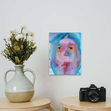 "Load image into Gallery viewer, Jamie Angello - Poison Flower Pedal Disaster ""False Faces Series"" Wall Art"
