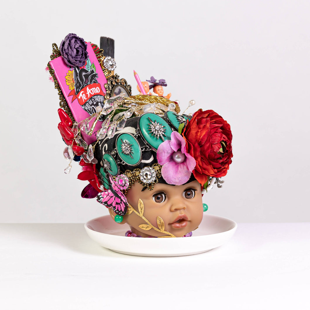 Grace Yip Designs - Frida and Diego in Love Baby Doll Art