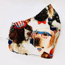 Load image into Gallery viewer, Jean Stone - American Dog Mask, Mask, Atrium 916, Sacramento . Shop