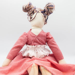 HandMade Magic - Picnic Dress, Dolls Clothing