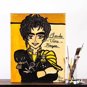 Livinci The Artist - Fire Emblem 3 Houses (Claude Von Reigan) Painting, Wall Art, Livinci The Artist, Sacramento . Shop