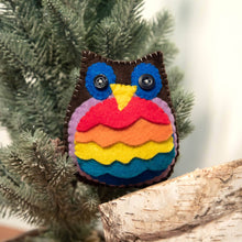 Load image into Gallery viewer, HandMade Magic - Stuffed Pride Owl Cushion, Soft Toy