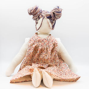 HandMade Magic - Floral Night Dress, Dolls Clothing