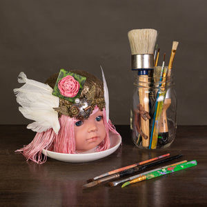 Grace Yip Designs - Steampunk Fairy Baby Doll Art