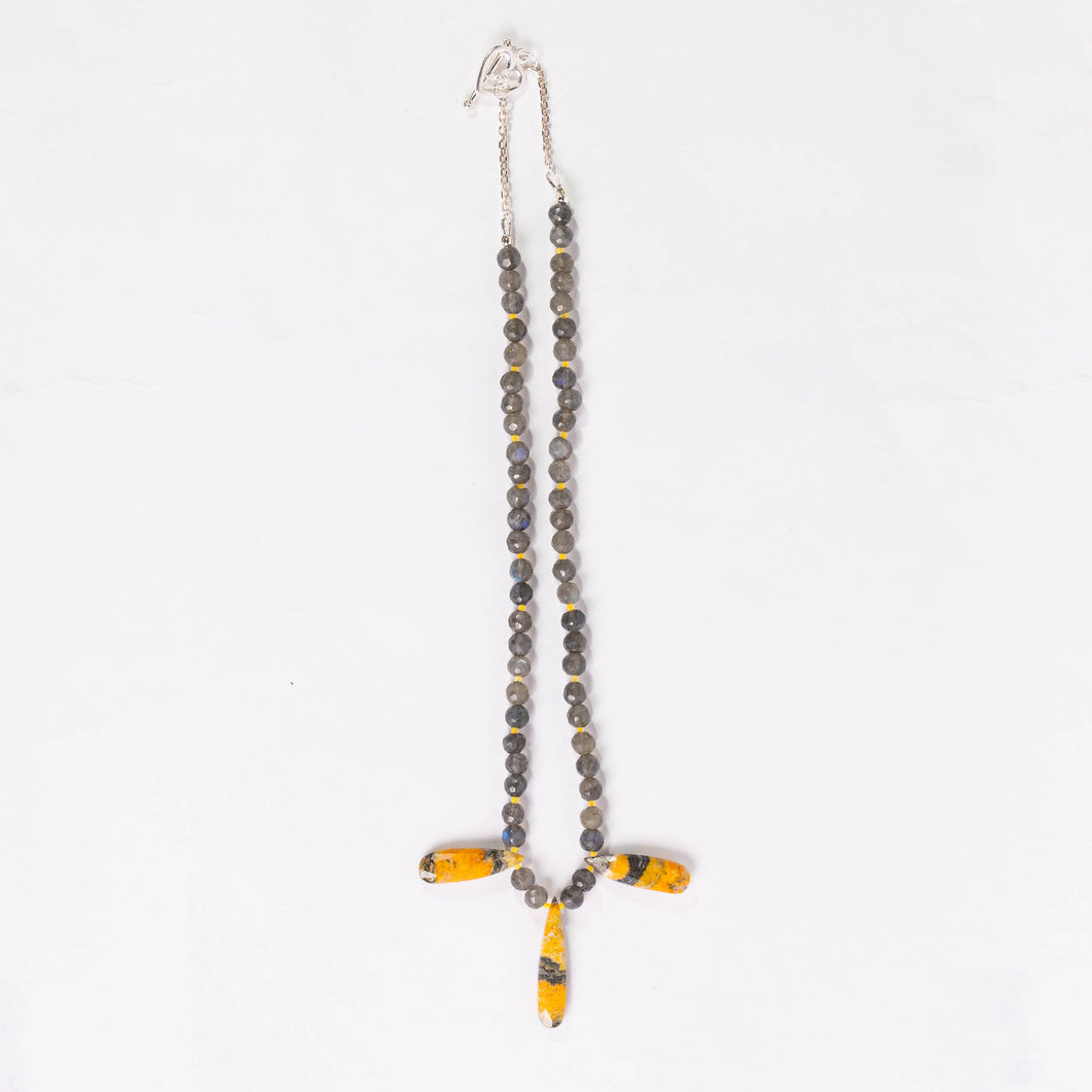 Lori Sparks- Bumble Bee Necklace