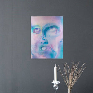 "Jamie Angello - Curse The Gods ""False Faces Series"" Wall Art"