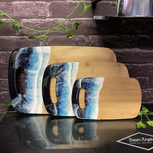 "Kat Martinez ""Ocean cutting board set"""
