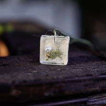 Load image into Gallery viewer, Succulent Sirens- Calistoga Lichen Pendant Hemp Necklace