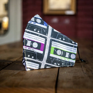 Maria Canta - Cassette Tapes Adult Masks