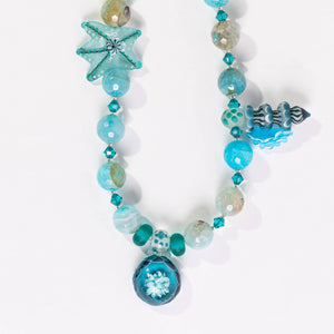 Lori Sparks- Under The Sea Necklace