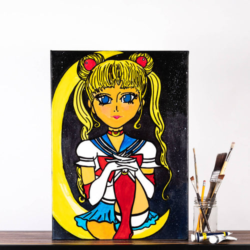 Livinci The Artist - Sailor Moon Painting - Sacramento . Shop