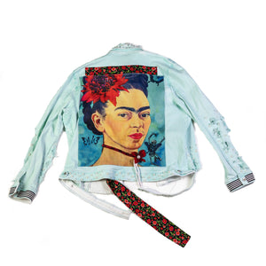 Grace Yip Designs - Fresh and Funky Frida Jean Jacket