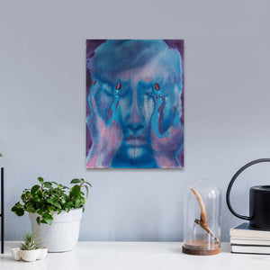 "Jamie Angello - Waiting For The Night ""False Faces Series"" Wall Art"