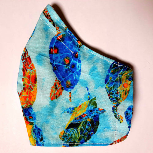 Jean Stone - Sea Turtles Mask - Sacramento . Shop