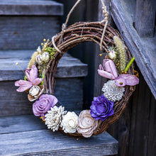 Load image into Gallery viewer, Ecojoyous - Large Dried Flower Wreath, Home Decor