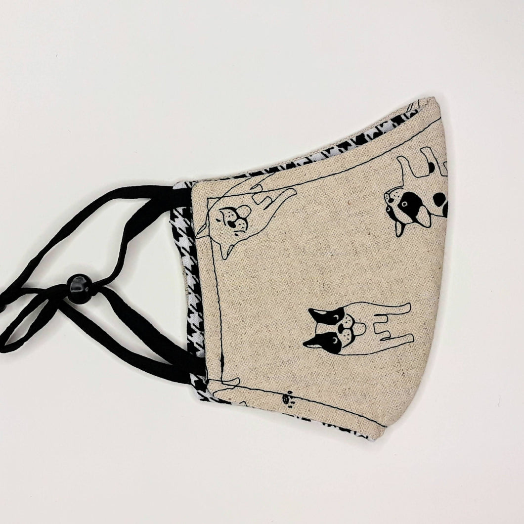 Le & Lewis - French Bulldog Youth Mask - Sacramento . Shop