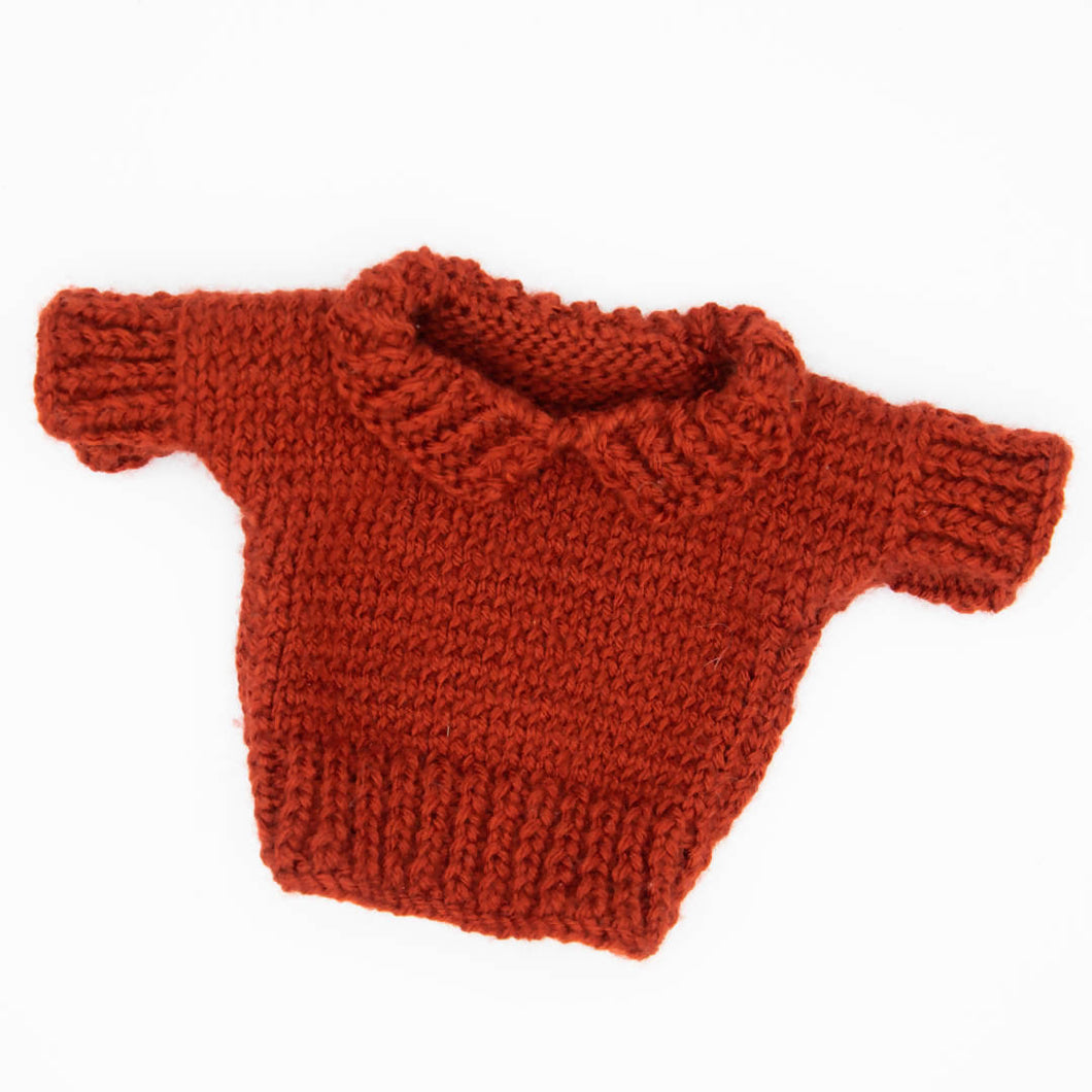 HandMade Magic - Red, Short Sleeve Pullover Sweater, Dolls Clothing