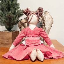 Load image into Gallery viewer, HandMade Magic - Picnic Dress, Dolls Clothing