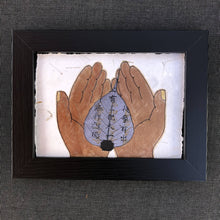 Load image into Gallery viewer, Susan Twining Creations: Bodhi Leaf Held by Copper Colored Palms
