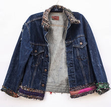 Load image into Gallery viewer, Cloth Butcher: :Textile Chef - Stable Tatters Levi Denim Jacket