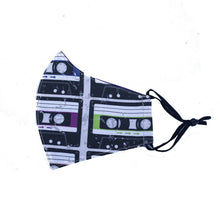 Load image into Gallery viewer, Maria Canta - Cassette Tapes Adult Masks