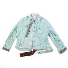 Load image into Gallery viewer, Grace Yip Designs - Fresh and Funky Frida Jean Jacket