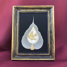 Load image into Gallery viewer, Susan Twining Creations - Greeting Card with Bodhi Leaf and Golden Dove
