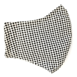 Terri Test - Black & White Plaid Children's Mask - Sacramento . Shop