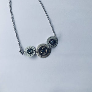 Joyce Pierce- Upcycled Watch Dial Necklace