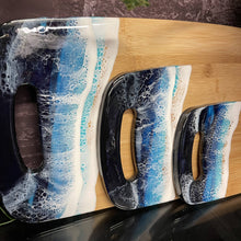 "Load image into Gallery viewer, Kat Martinez ""Ocean cutting board set"""