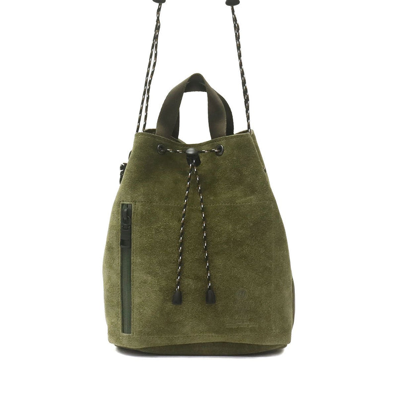 AS2OV アッソブ WATER PROOF SUEDE DRAWSTRING BAG 091754