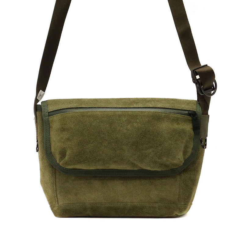 AS2OV アッソブ WATER PROOF SUEDE MESSENGER BAG 091755