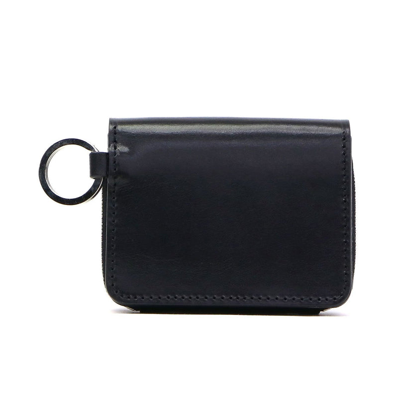 AS2OV アッソブ OILED ANTIEQUE LEATHER SHORT WALLET 041901