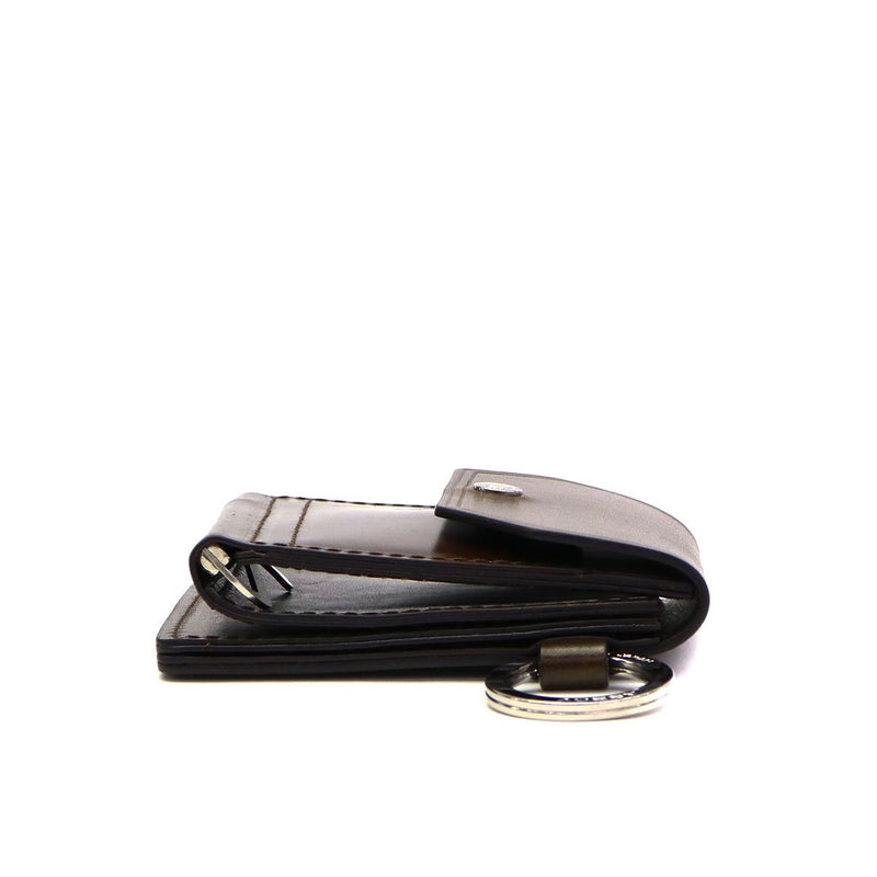 AS2OV アッソブ OILED ANTIEQUE LEATHER MONEY CLIP 041902