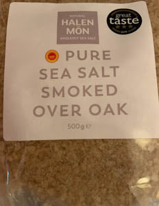Halen Môn Pure Sea Salt Flakes Smoked Over Oak 500g