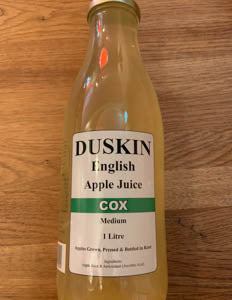 Duskins Apple Juice - Cox