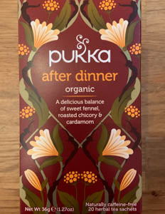 Pukka After Dinner 20 Teabags