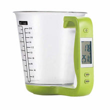 Load image into Gallery viewer, Digital Measuring Cup with Scale - Green - Hylthi
