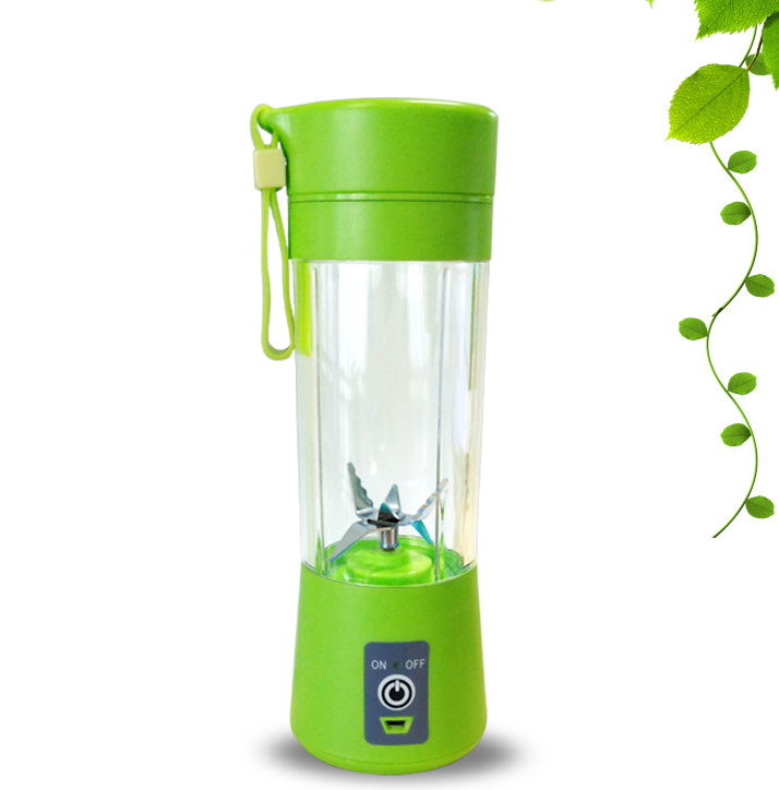 Electric fruit Blender and Juice Cup - Light green - Hylthi