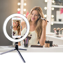 Load image into Gallery viewer, 10'' LED Selfie Desk Ring Light - Hylthi