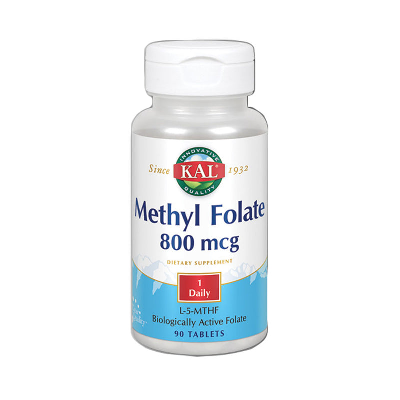Methyl Folate 800mcg - 90 Comprimidos Sublinguales