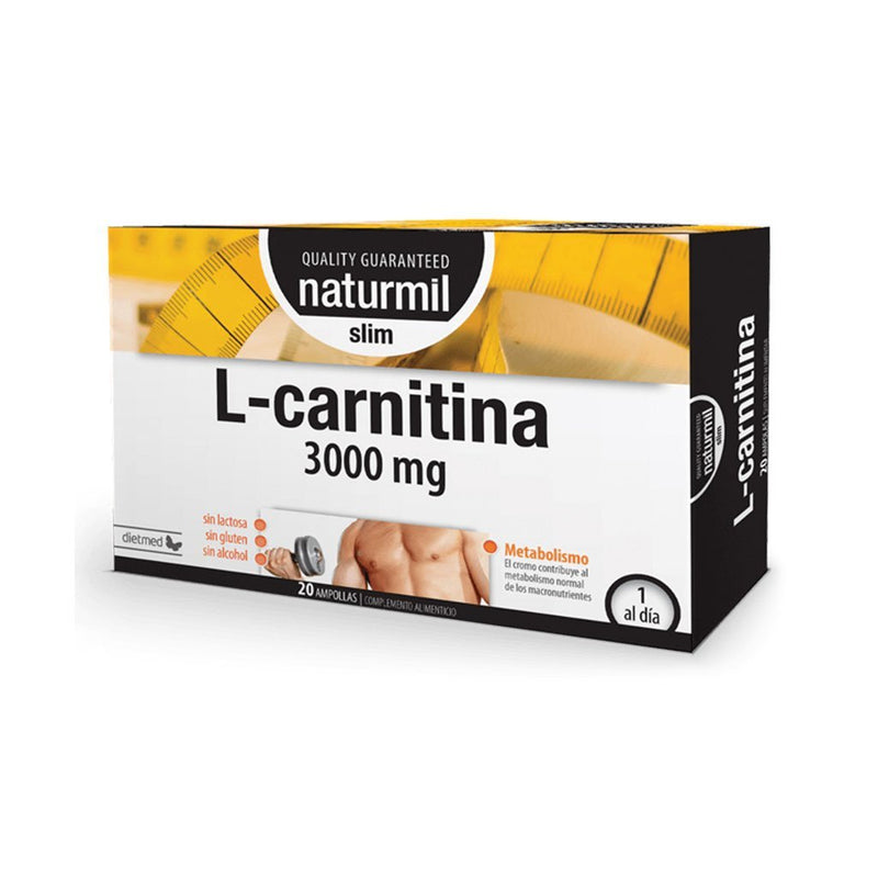L-Carnitina Slim 3000mg - 20 Ampollas x 15 ml