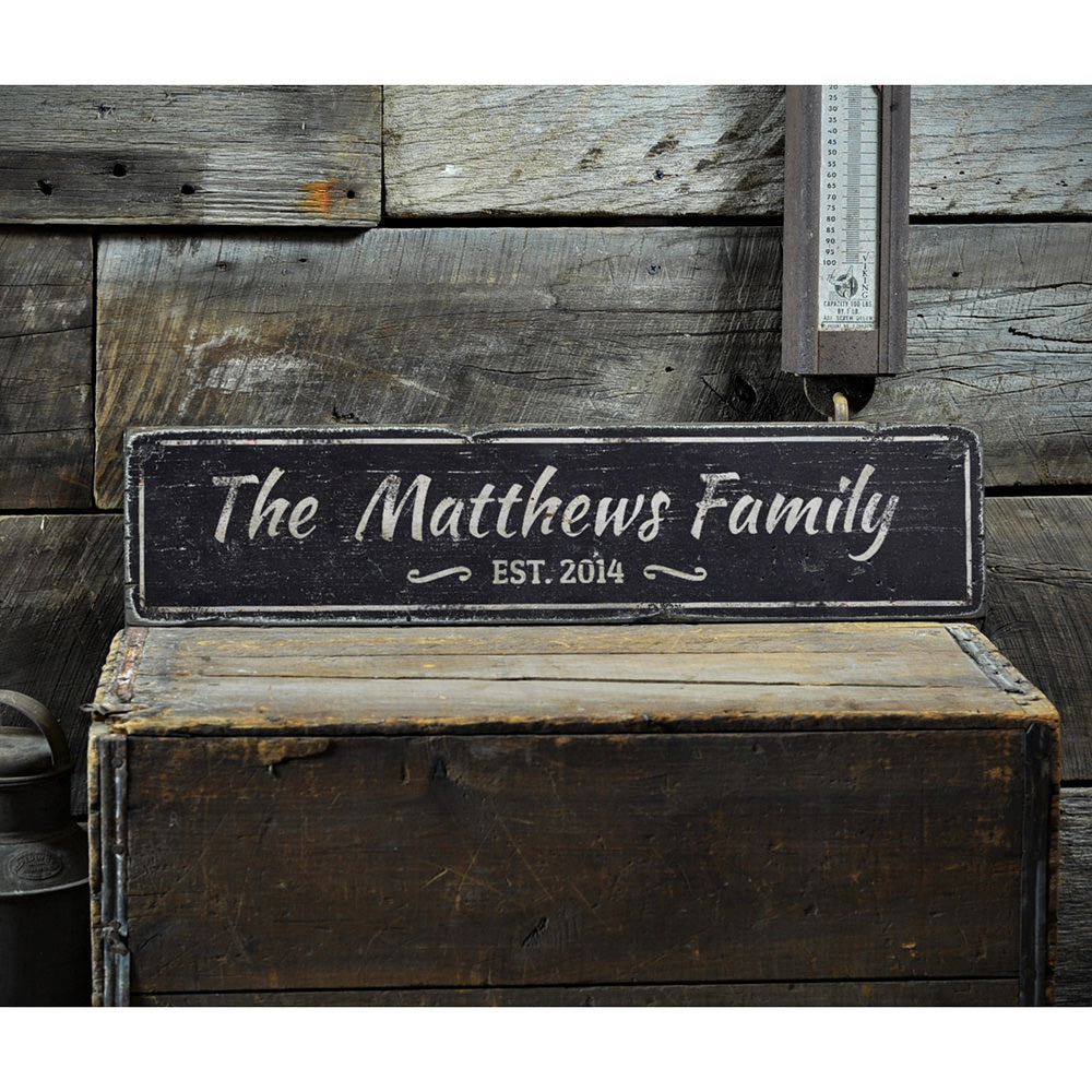 Decorative Wedding Vintage Wood Sign
