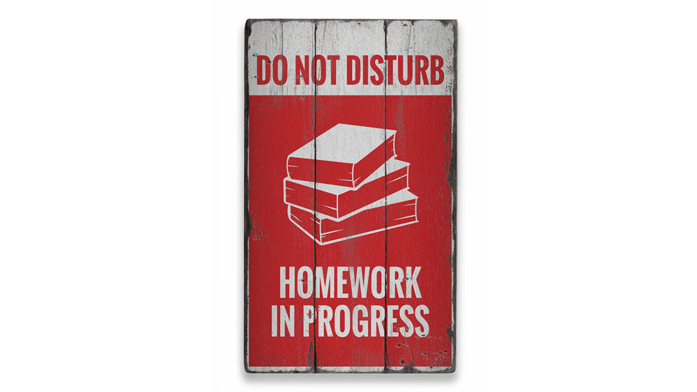 Do Not Disturb Rustic Wood Sign